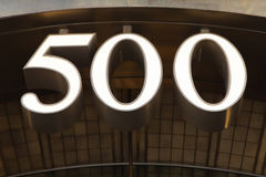500 Fifth Avenue Imagem de Stock