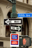 Fifth Avenue Stock Image