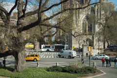 Fifth Avenue and 90th Street New York USA Stock Image