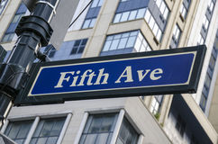 Fifth avenue Stock Photos