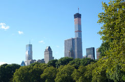 Fifth Avenue and Central Park Stock Images