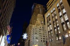 Fifth Avenue dans le temps de Noël Image libre de droits