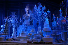 The 2015 Fifth Avenue Holiday Windows 84 Stock Photography