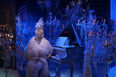 The 2015 Fifth Avenue Holiday Windows 87 Royalty Free Stock Images