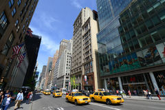 Fifth Avenue, Manhattan, New York City Royalty Free Stock Photography