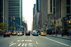Fifth Avenue Midtown Manhattan Foto de archivo libre de regalías