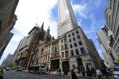 Fifth Avenue in Midtown Manhattan, New York City Stockfotos