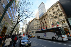 Fifth Avenue in Midtown Manhattan, New York City Royalty Free Stock Photography