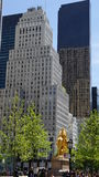 Fifth Avenue near Central Park in New York City Stock Photo