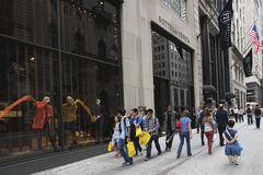 FIFTH AVENUE - NEW YORK CITY Stock Image