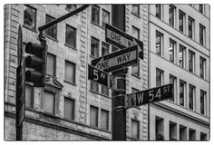 Fifth avenue. In New York City stock photos