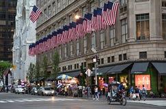 Fifth Avenue New York City Stock Photos