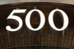 500 Fifth Avenue Stock Image