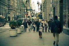 Fifth Avenue NYC Fotografía de archivo