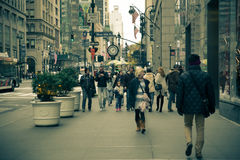 Fifth Avenue NYC Stock Photography