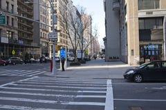 Fifth Avenue più basso fotografia stock