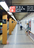 Fifth Avenue Subway Station, New York Stock Photo