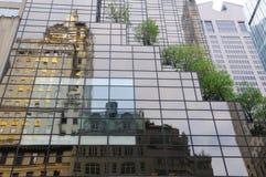 Fifth- Avenuereflexion Lizenzfreies Stockfoto