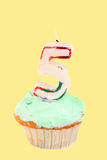 Fifth birthday Royalty Free Stock Photography
