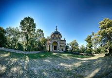 Fifth Chapel of Sacred Mount of Varese Stock Images