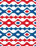 Abstract Red Blue Wave Shape Vertical Seamless Pattern | Fifth Version of Etpa. Fifth Version of Etpa Stock Images