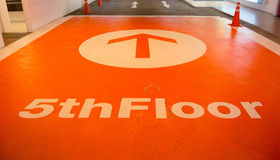 Fifth floor Royalty Free Stock Images