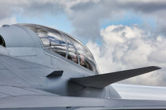 Fifth-generation jet fighter Stock Photos