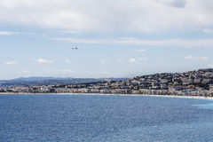 The fifth most populous city in France, Nice Royalty Free Stock Image