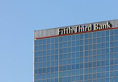 Fifth Third Bank royalty free stock images