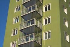 Fifties apartments Stock Photo