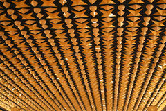 Fifties designed ceiling Stock Image