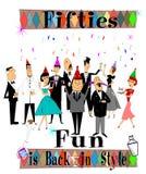 Fifties fun Royalty Free Stock Photos