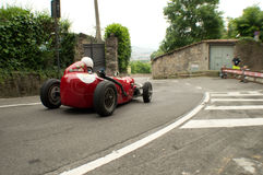 Fifties monoseater at Bergamo Historic Grand Prix 2015 Royalty Free Stock Photo