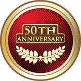 Fiftieth Anniversary royalty free illustration