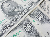 Fifty american dollars Royalty Free Stock Photo