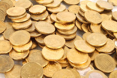 Fifty cent coins Stock Photos