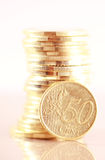 Fifty cent euro Royalty Free Stock Photos