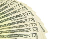 Fifty dollar Royalty Free Stock Images