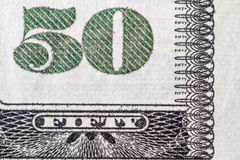 Fifty Dollar Bill Stock Photos