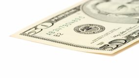 Fifty Dollar Bill Royalty Free Stock Photos