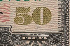 Fifty dollars Stock Images