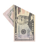 Fifty dollars bill Stock Image