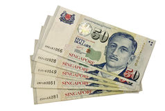 Fifty dollars Singapore Royalty Free Stock Photo