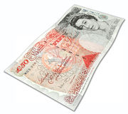 Fifty English Pounds Stock Photos