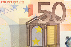 Fifty euro Royalty Free Stock Images