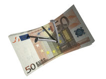 Fifty euro Stock Photography