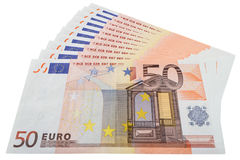 Fifty euro Royalty Free Stock Photo