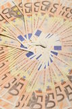 Fifty euros banknotes Stock Photography
