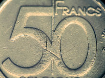 Fifty Francs Royalty Free Stock Photography