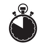 Fifty minute stop watch countdown Royalty Free Stock Photos